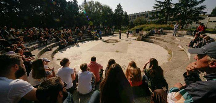 Građanska inicijativa reagovala na projekat obnove gimnazijskog dvorišta