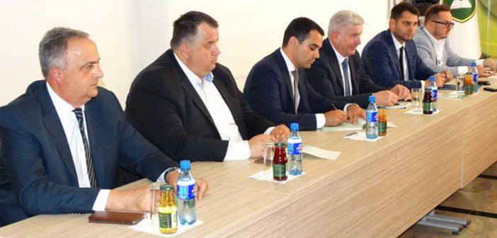 Raičević i Novaković na Međunarodnom sajmu privrede u Tešnju