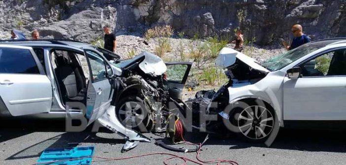 Nesreća kod Sozine: Dvije osobe poginule, petoro povrijeđeno