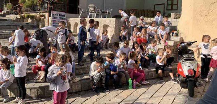 OŠ Srbija obilježila Svjetski dan pješačenja