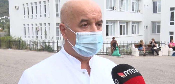 VIDEO: Dr Tomanović: Jedan pacijent preminuo, dva na aparatu za mehaničku ventilaciju