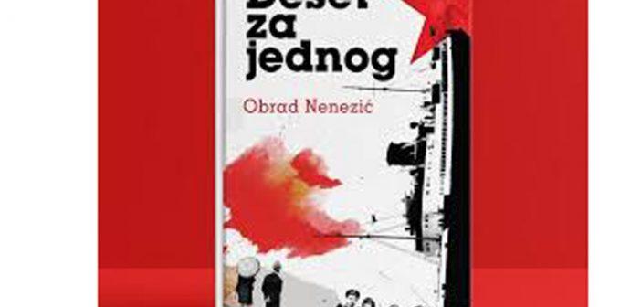 Novi roman Obrada Nenezića Deset za jednog na talasima Radio Bara