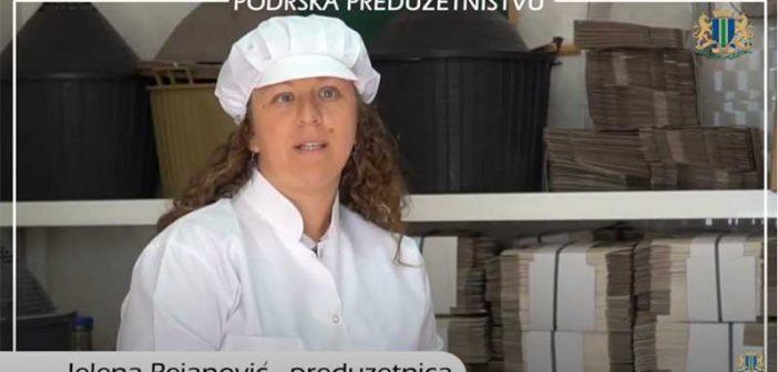 Biznis ideju gastro suvenira Jelene Pejanović podržala Opština