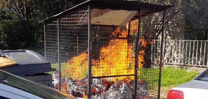 Komunalne djelatnosti: Opet zapaljen kontejner