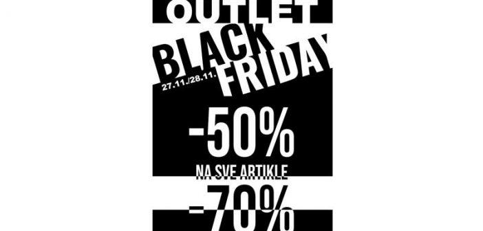 Black friday u Cakan sport outlet radnji: Popusti 50-70% na sve artikle