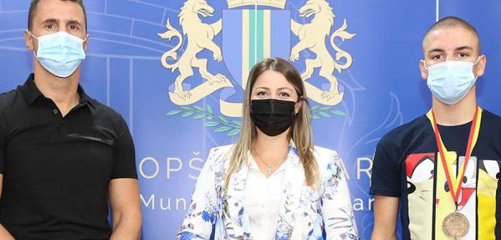 Predsjednica SO Bar primila Nikolu Jovetića i Ivana Strugara